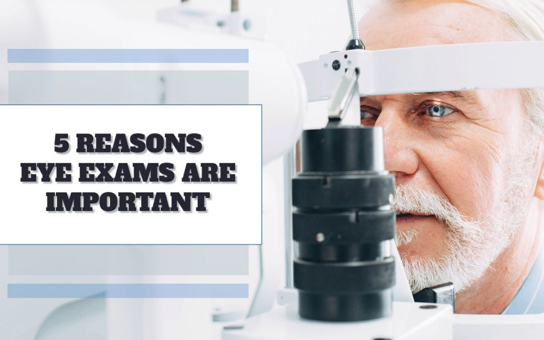 5 Reasons Eye Exams Are Important